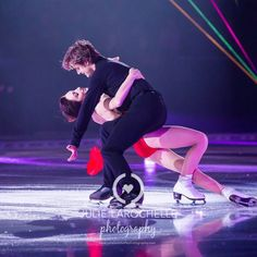 Meryl and Charlie at From the Heart Ice Show, December 2015