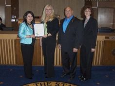 Sen. Kimberly Yee honors the Arizona Court Reporters Association for National Court Reporting and Captioning Week