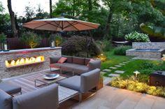 Steel Comes Home  Garden idea