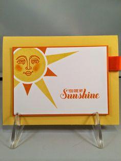 Stampin' Up!  Ray of Sunshine