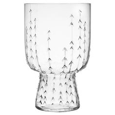iittala Sarjaton Clear Glass - Set of 2 A stunning example of tradition merging with modern design, the iittala Sarjaton Glass Set will dazzle your friends and family. Delicately created, the upside-down, bell shaped glassware echoes rustic . Deco Table, A Table, Dining Table, Clear Glass, Wine Glass, Design3000, Glass Museum, Drinking Glass, Marimekko