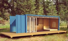 Find Safe Refuge in a Container Cabin Made Just For You