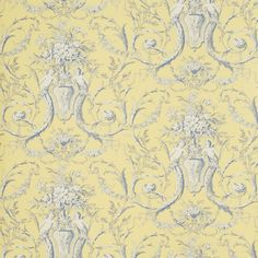 Style Library - The Premier Destination for Stylish and Quality British Design | Products | Cherubs Toile Wallpaper (DEGTCH103) | Toile Wallpapers | By Sanderson