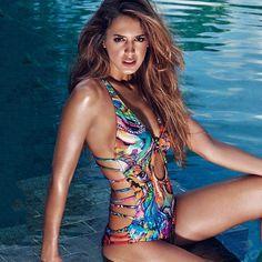 Sexy Women One Piece Swimsuit Swimwear Bathing Monokini Push Up Padded Bikini #Unbranded #Bikini