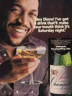 """Champale. """"It's something else"""", 1976"""