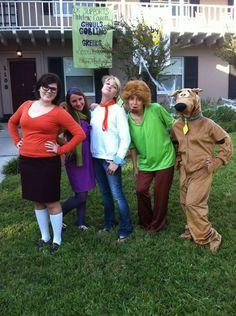 Scooby-Doo costumes! #ScoobyDoo #Cosplay