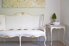 The Regent Collection features beautiful Louis XV style cabriole legs and feminine curves. Each piece is hand finished to exhibit texture and patina. Soft whites, french greys, and gilded accents make these pieces neutral and timeless.   Ave Home