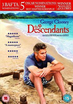 The Descendants DVD 2012 Drama Region 2 ***NEW & SEALED***