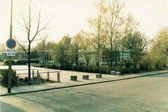 Emmen, Statenschool LDS, Lagere Detailhandel school... Hoek Veldlaan/Statenweg.  Jaren 80.