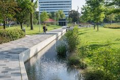 Catharina Amalia Park, Apeldoorn by OKRA « Landscape Architecture Platform Landscape Architecture Degree, Park Landscape, Urban Landscape, Landscape Design, Architecture Jobs, Landscape Architects, Traditional Landscape, Contemporary Landscape, Parque Linear
