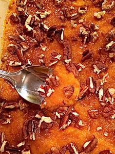 Healthy Sweet Potato Casserole with greek yogurt instead of butter. Definitely need to try this. Healthy Sweets, Healthy Cooking, Healthy Snacks, Healthy Eating, Cooking Recipes, Healthy Recipes, Casseroles Healthy, Sweet Potato Casserole, Sweet Potato Recipes