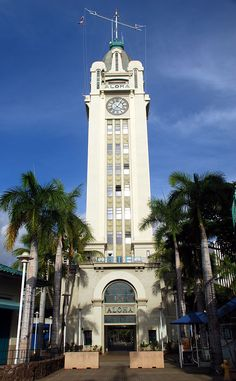 Aloha Tower Marketplace, Honolulu, Hawaii