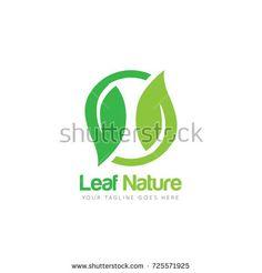 Creative Leaf Nature Logo Design Template
