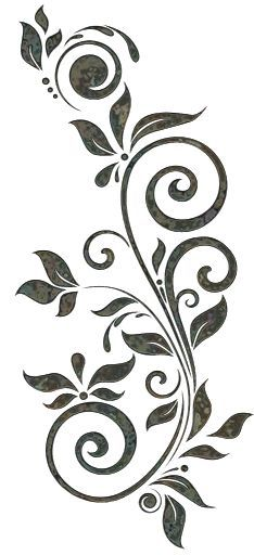 Awesome Most Popular Embroidery Patterns Ideas. Most Popular Embroidery Patterns Ideas. Stencil Patterns, Stencil Art, Stencil Designs, Henna Designs, Embroidery Patterns, Stencil Templates, Hand Embroidery, Flower Stencils, Simple Embroidery
