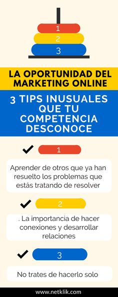 La oportunidad del marketing online (3 tips inusuales que tu competencia desconoce)
