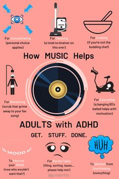 Strategies for Adults with ADHD - Gutidentity Mental And Emotional Health, Mental Health Quotes, Mental Health Awareness, Adhd Facts, Adhd Quotes, Motivational Songs, Adhd Help, Adhd Brain, Mind Maps