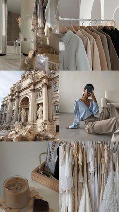 Cream Aesthetic, Classy Aesthetic, Brown Aesthetic, Aesthetic Collage, Summer Aesthetic, Aesthetic Fashion, Instagram Feed, Estilo Blogger, Healthy Lifestyle Motivation