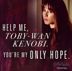 Pretty Little Liars: The Perfectionists Watch Pretty Little Liars, Preety Little Liars, Pretty Little Liars Quotes, Pll Quotes, Pll Memes, Pll Logic, Spencer And Toby, Grey Anatomy Quotes, Best Shows Ever