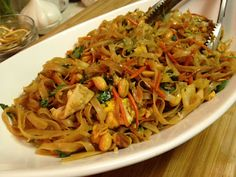 USE THIS RECIPE! Let's Cultivate Food: Pad Thai with Tofu