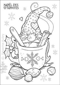Coloring Pages Christmas Elegant Christmas Gnome Coloring Page Christmas Gnome, Christmas Colors, Christmas Crafts, Xmas, Kids Christmas, Elegant Christmas, Christmas Coloring Pages, Coloring Book Pages, Colouring Sheets
