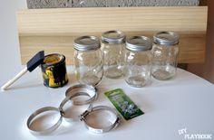 Mason+Jar+Organizer