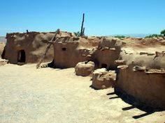 Pueblo Grande de Nevada was built by the Anasazi Indians around 700 A.D in the Moapa Valley about 70 miles from Las Vegas. This recreation of the pueblo is located at the Lost City Museum in Overton, Nevada. http://www.nevadadaytrips.com/lost-city.html