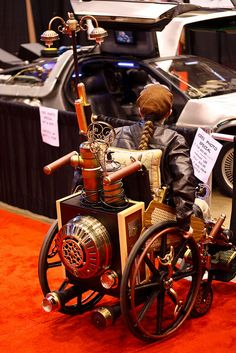 Steampunk wheelchair!