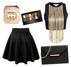 """""""Untitled #6"""" by nedime-ziberi on Polyvore featuring beauty, Maybelline, Gucci and MICHAEL Michael Kors"""