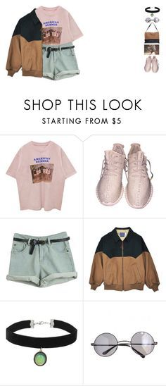 """""""Noxies"""" by lnternet ❤ liked on Polyvore featuring Topshop, Retrò, CÉLINE and vintage"""