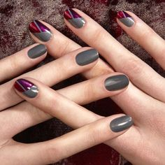 94 Best Nail Art Ideas for Fall, 27 Best Christmas Nail Art Design Ideas 2018 Festive, 21 Amazing Thanksgiving Nail Art Ideas, 30 Fall Nail Art Ideas for 2019 Fall Manicure Trends, 47 Fall Nail Art Ideas We Can T Wait to Try thefashionspot. Fall Nail Designs, Nail Polish Designs, Cute Nail Designs, Fall Nail Art, Cute Nail Art, Cute Nails, Fall Nails, Thanksgiving Nail Art, Lavender Nails