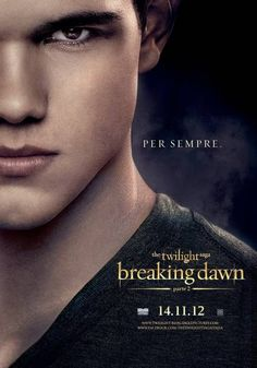 The Twilight Saga - Breaking Dawn Parte 2 - Character Poster italiani - Taylor Lautner #BreakingDawn #Twlight