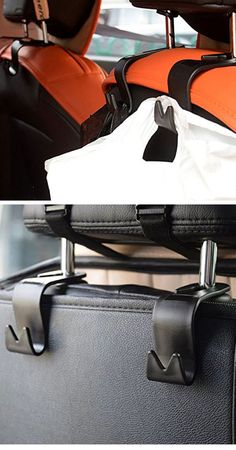Headrest Hanger Storage Hooks Life Hacks Every Girl Should Know Easy Storage Ideas for Small Spaces Craft Tables With Storage, Craft Storage, Storage Hacks, Storage Ideas, Organization Ideas, Organizing, Paper Chandelier, Life Hacks Every Girl Should Know, Amazing Life Hacks