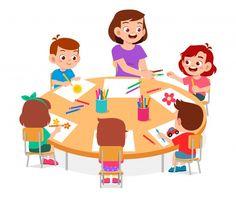 Kids Cartoon Characters, Cartoon Kids, Boy And Girl Drawing, School Cartoon, School Murals, Creative Poster Design, Kids Class, Cute Clipart, School Boy