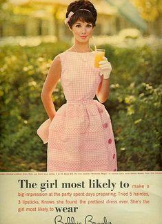 Bobbie Brooks Pretty Pink Dress