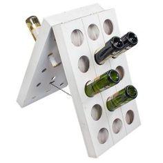 Botellero de Madera Vintage para Vino