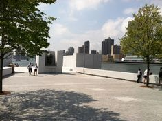 Louie Kahn, FDR Memorial, Roosevelt Island, NYC Roosevelt Island, Architects, Nyc, Building Homes, New York, Architecture