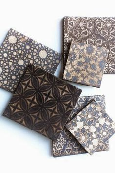 Origins Tile by Forrest Lesch-Middelton - inspired by sacred geometry and arabesque Tile Patterns, Textures Patterns, Floor Patterns, Online Tile Store, Artistic Tile, Tile Stores, Moroccan Tiles, Moroccan Lanterns, Moroccan Decor