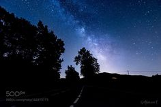 Road to the Universe  Both the road and the Milky Way are driving me at the same small house up the mountain. A signs of faith i guess. Should i go there ?  Camera: NIKON D5500 Lens: Tokina AT-X 11-20mm F2.8 PRO DX Focal Length: 11mm Shutter Speed: 30sec Aperture: f/2.8 ISO/Film: 1250  Image credit: http://ift.tt/29peXWj Visit http://ift.tt/1qPHad3 and read how to see the #MilkyWay  #Galaxy #Stars #Nightscape #Astrophotography