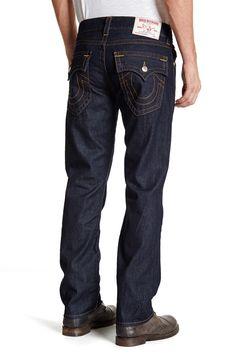 8412308580b32 Straight Leg Flap Pocket Jean by True Religion on  nordstrom rack