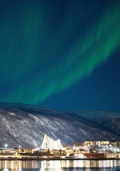 Aurora Boreal, Noruega.-