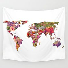 Wall Tapestry featuring It's Your World by Bianca Green