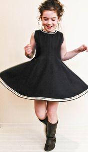 hattie bird - twirler girl dress