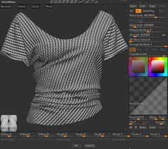ArtStation - Free Knit Alpha for Zbrush, Eugene Fokin  - https://gumroad.com/l/uzDwF -