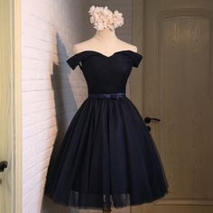 Beautiful A-line tulle sweetheart neck short prom dress,party dresses