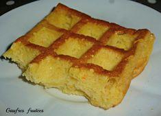 Gaufres fruitées (sans farine) - Chez Vanda