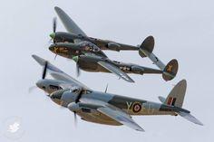 P38 lighting and De Havilland Mosquito