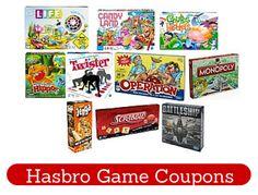 New Hasbro Game Printable Coupons + Deals at Walmart and Target