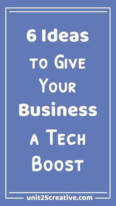 It's time to stop overwhelming yourself in your #business! Sometimes your #startup needs a boost, though, so here are six ways to give your biz a tech boost toward success. Woohoo! / business tools, biz tools, to get, ideas, technology, project management, client projects, project process, software, Asana, Trello, Slack, cloud storage, Google Analytics, #biztip, business insights, customer support, tips, tricks, how to, customer care, client satisfaction, business budget #businessmanagement