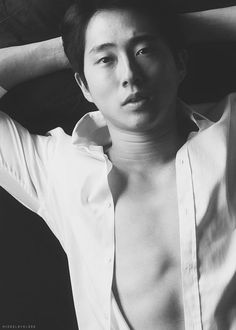Steven Yeun Photoshoot