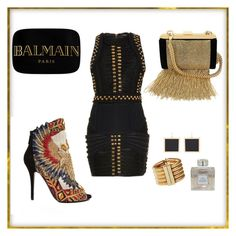 """Untitled #21"" by lissims ❤ liked on Polyvore featuring Balmain"
